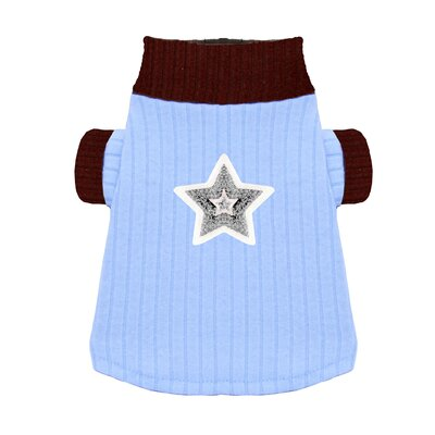 Star Dog Turtleneck in Blue