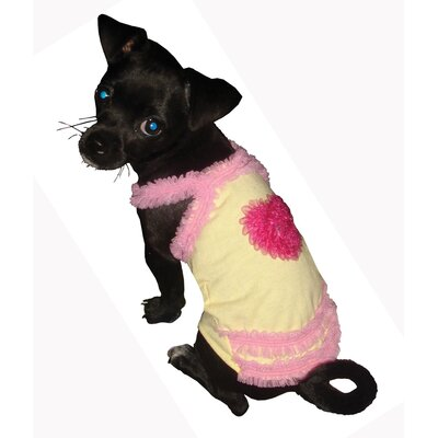 Hip Doggie Strawberry Bubble Gum Dog Tank