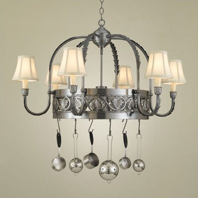 Hi-Lite Leaf Chandelier Pot Rack
