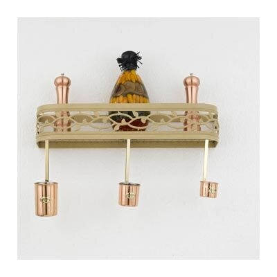 Napa Wall Mounted Pot Rack