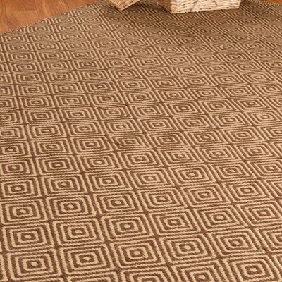 Natural Area Rugs Jute Cream / Brown Realm Rug