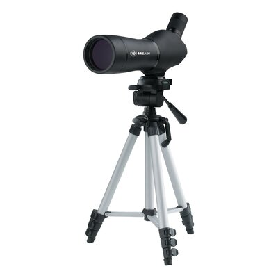 20-60 x 60 Spotting Scope with Waterproof Molded Carry Case and Tripod