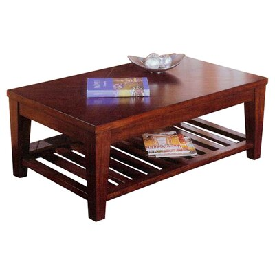 Livingston Coffee Table with Shelf