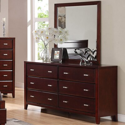 Carrington 6 Drawer Dresser
