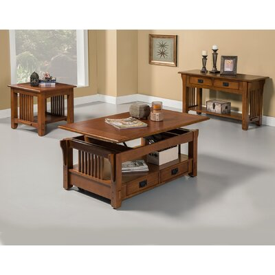 Mission Style Coffee Table Set Wayfair