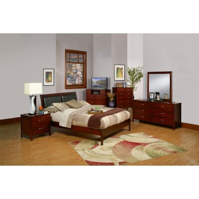 Alpine Furniture Newport 6 Drawer Dresser