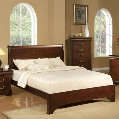 alpine furniture west haven sleigh bed reviews wayfair. Black Bedroom Furniture Sets. Home Design Ideas