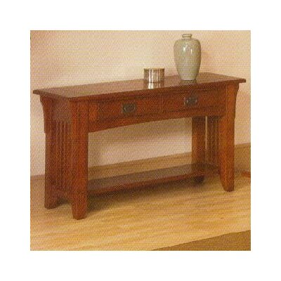 Alpine Furniture Mission Style Console Table