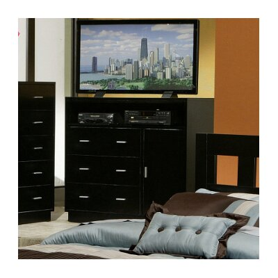 Alpine Furniture Manhattan TV Media Chest