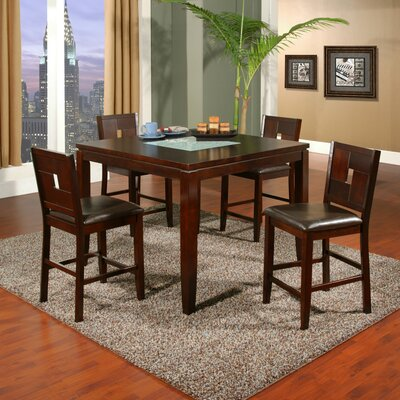 Alpine Furniture Lakeport Counter Height Dining Table