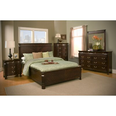 Alpine Furniture Windsor Panel Bedroom Collection
