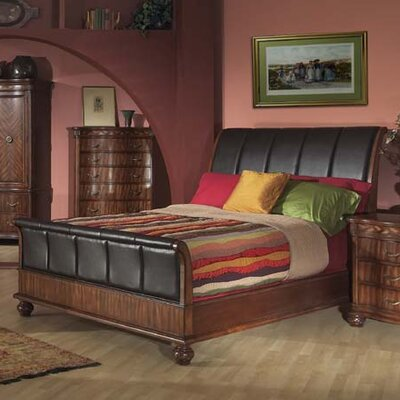 Alpine Furniture Lafayette Queen Sleigh Bedroom Collection