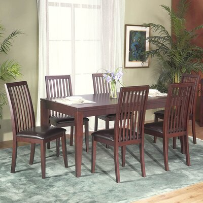 Alpine Furniture Anderson 7 Piece Dining Set