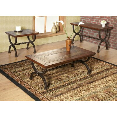 Alpine Furniture Milford Coffee Table Set