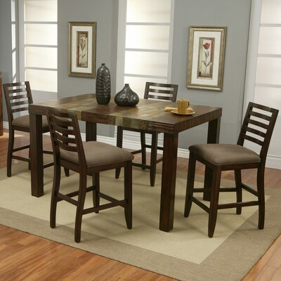 Alpine Furniture Sedona 5 Piece Counter Height Dining Set