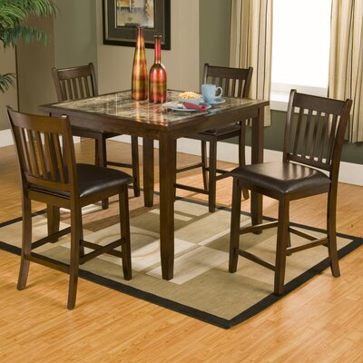 Alpine Furniture Capitola 5 Piece Dining Set