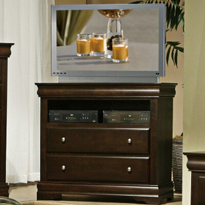 Alpine Furniture Chesapeake 2 Drawer TV Media Chest