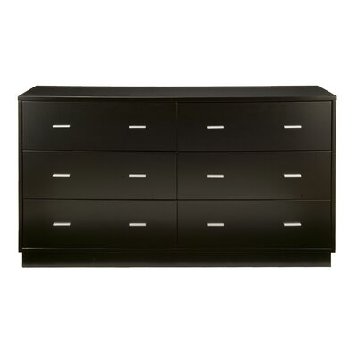 Alpine Furniture Manhattan 6 Drawer Dresser