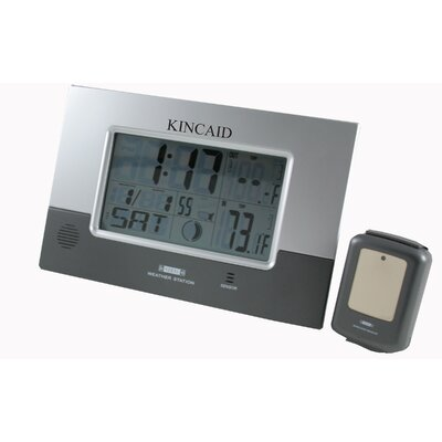 Kincaid Clocks Weather Station Clock