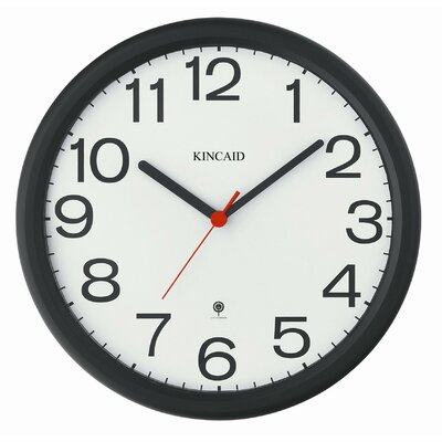 "Kincaid Clocks 12"" Radio Controlled Wall Clock"