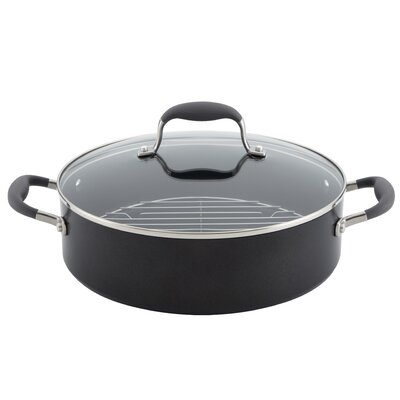 Advanced 5.25 Quart Covered Braiser with Lid