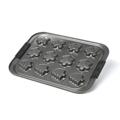 Anolon Advanced 12-Cup Non-Stick Holiday Cookie Pan