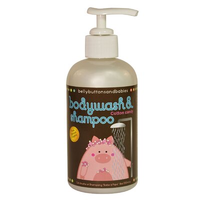 Belly Buttons and Babies Cotton Candy Body Wash and Shampoo (8 oz.)