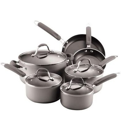 Farberware Enhanced 10-Piece Nonstick Cookware Set