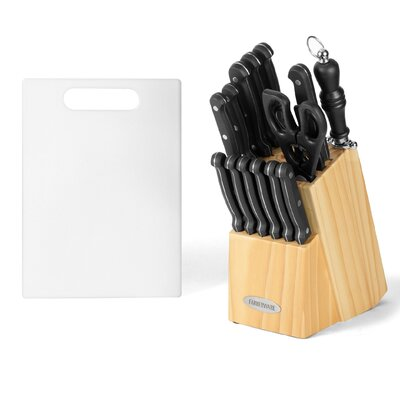 17 Piece Triple Rivet Cutlery Block Set