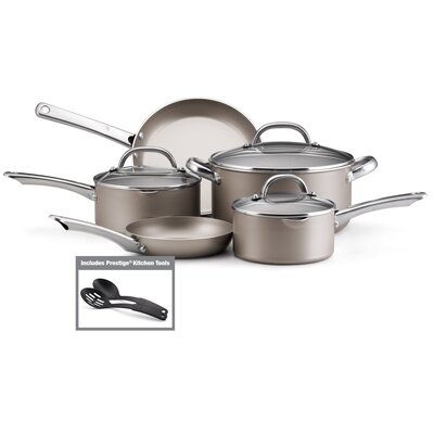 Premium Non-Stick Aluminum 10-Piece Cookware Set
