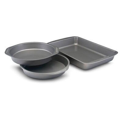 Farberware Bakeware 3 Piece Cake Pan Set