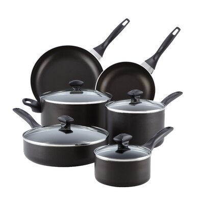 Farberware Dishwasher Safe Nonstick 14-Piece Cookware Set
