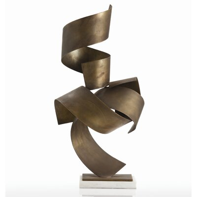 Henley Sculpture in Vintage Brass