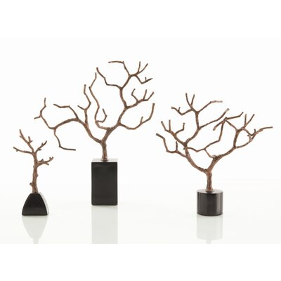 ARTERIORS Home 3 Piece Banyan Sculpture Statue Set