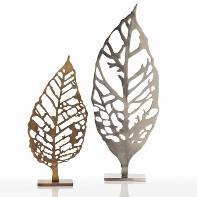 ARTERIORS Home Hyde Laser Cut Leaf Sculpture