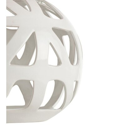 ARTERIORS Home Wendy Glossy White Web Porcelain Lamp