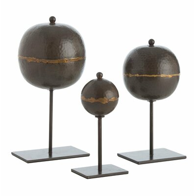 ARTERIORS Home 3 Piece Rocco Sculpture