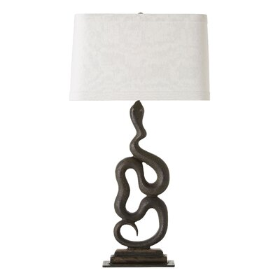 "ARTERIORS Home Heath 33"" H Right Table Lamp with Oval Shade"
