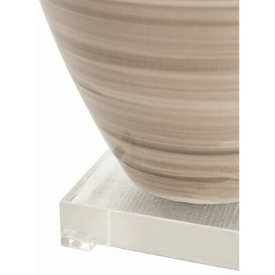 ARTERIORS Home Hunter Striped Ceramic / Acrylic Lamp