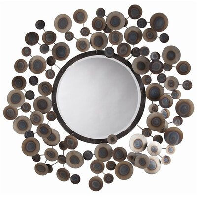 "ARTERIORS Home 48"" H x 48"" W Kensey Abstract Wall Mirror"