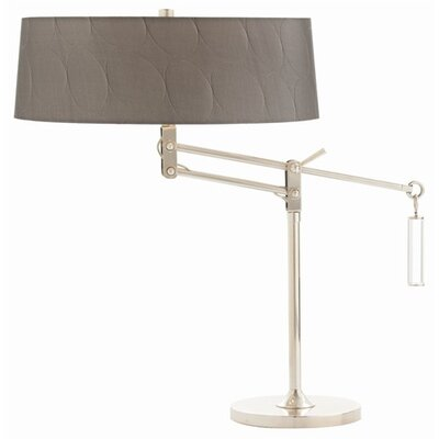 "ARTERIORS Home Jacqueline Adjustable 27"" H Table Lamp with Oval Shade"