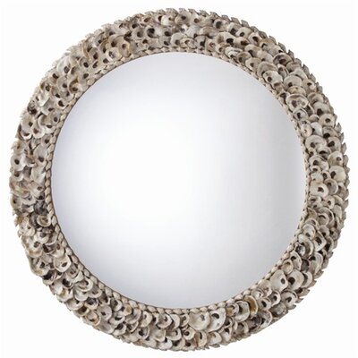 ARTERIORS Home Kipling Authentic Oyster Shell Mirror