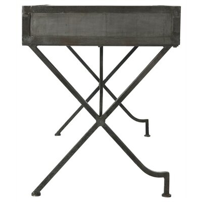 ARTERIORS Home Flint Iron Campaign Desk