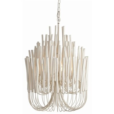 ARTERIORS Home Tilda 5 Light Wood / Iron Chandelier