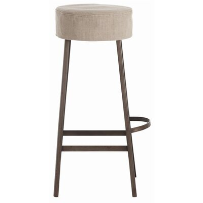 ARTERIORS Home Rochefort Iron / Wood / Linen Bar Stool