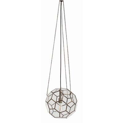 ARTERIORS Home Beck Faceted 1 Light Globe Pendant