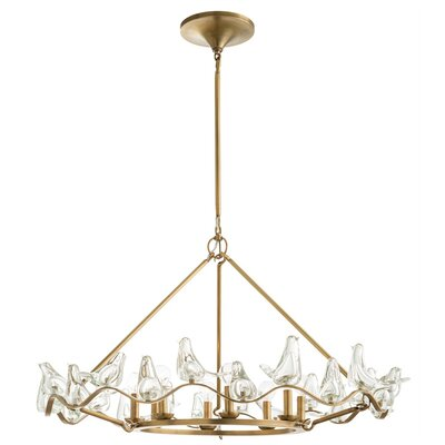 Dove 8 Light Mini Chandelier