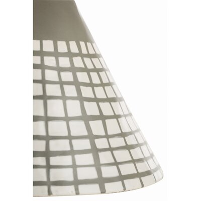 """ARTERIORS Home Ernie 20"""" H Table Lamp with Drum Shade"""