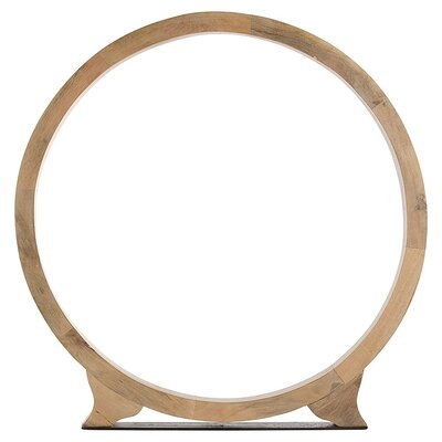 ARTERIORS Home Cody Ring Sculpture in Natural Wax