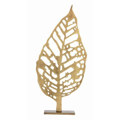 Hyde Laser Cut Leaf Sculpture